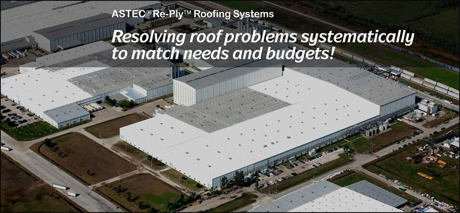 Resolving roof problems systematically to match needs and budgets!